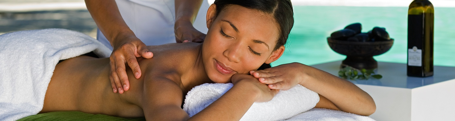 Relaxing Massage using Olive Oil